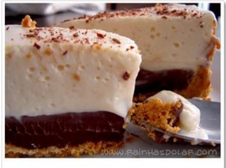 Torta de chocolate e limão   Elizabeth v. pinto