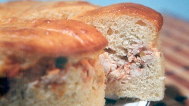 Torta de Frango com Fermento de Pão