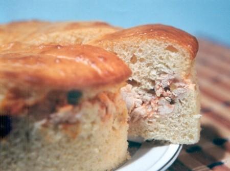Torta de Frango com Fermento de Pão | CyberCook