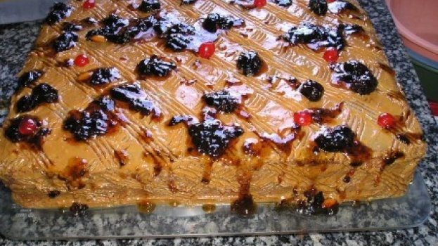 Torta de Tapioca da Pati