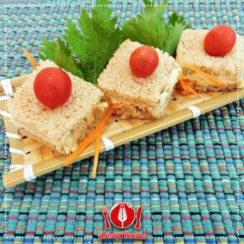 Mini Sanduíche de Atum    Abima Associação Brasileira Massas Alimen