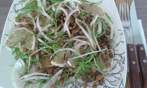 Salada Magra de Lentilhas | Déia Dusik