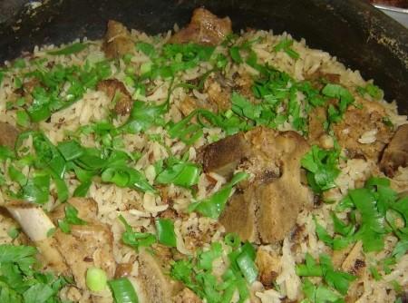 Suan com arroz