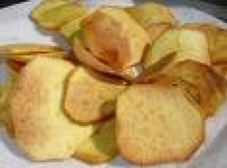 Chips de Batata Doce | Cláudia Daniel