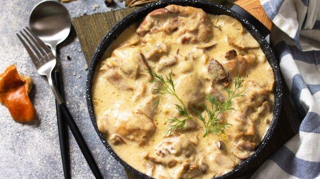 Peito de frango cremoso