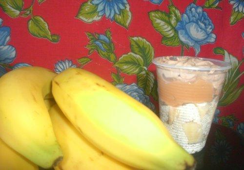 Sobremesa Gelada Rápida de Banana