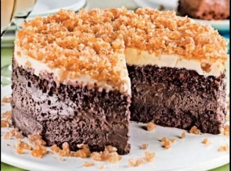 Bolo Gelado Três Chocolates | Ingrid Palmieri