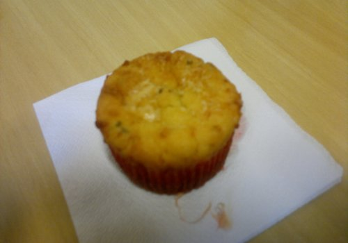 Cupcake de Queijo