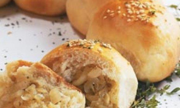 Guirlanda de pão de cebola