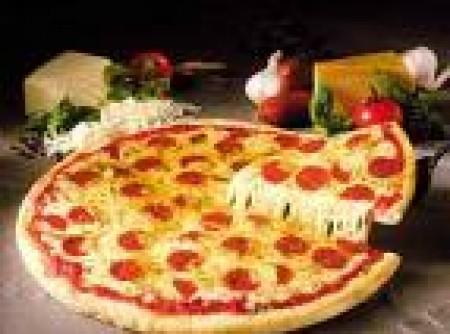 Massa leve de Pizza do Jév