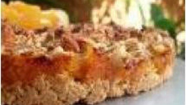 Torta Integral de Castanha do Pará com Frutas