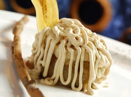 Postre de plátano