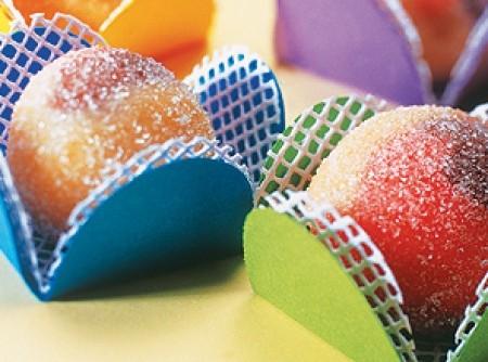 Bolinhas tricoloridas - Niver Kaly
