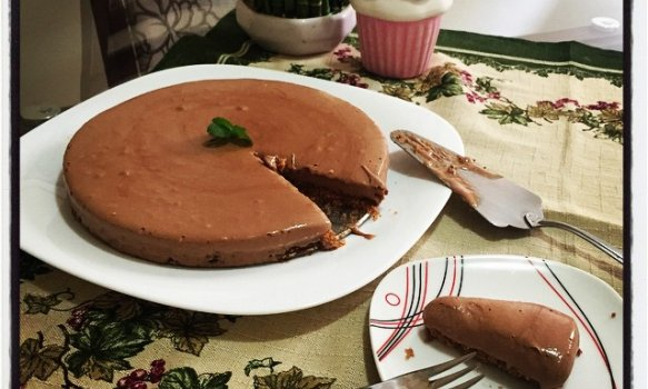 Torta Mousse de Chocolate Fácil