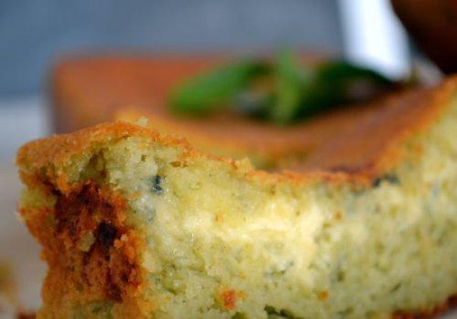 Pão de Ervas com Recheio de Gorgonzola