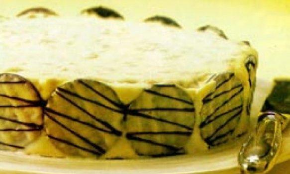 Torta Holandesa com Chocolate Branco