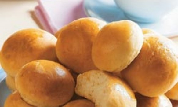 Pão de batata com maionese