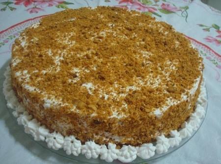 Torta de Amendoim Deliciosa