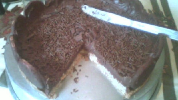 Torta Holandesa de Coco com Ganache
