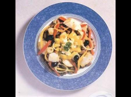 bacalhau da noruega com feijão