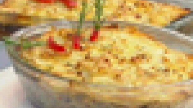Casadinho de batata com bacalhau