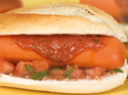 Hot dog de Santo Antonio