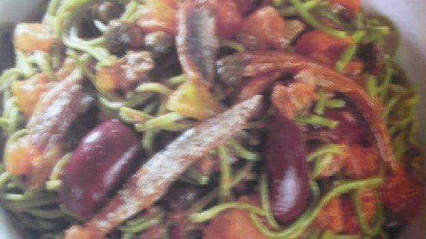 Capellini Verde À Putanesca