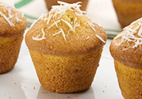 Muffin de Milho e Coco