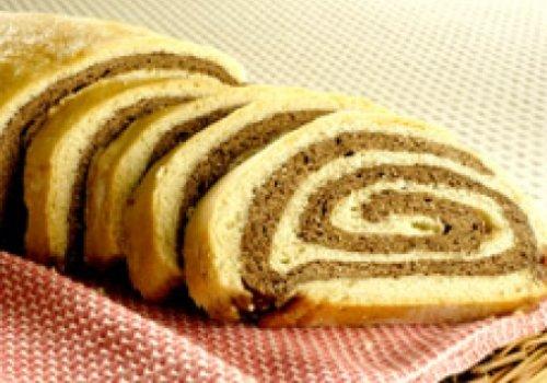 Pão de forma de chocolate