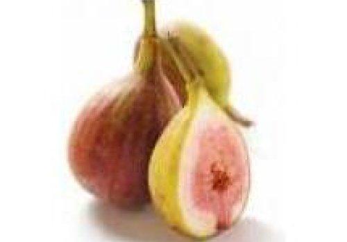 Sorvete de creme com figo