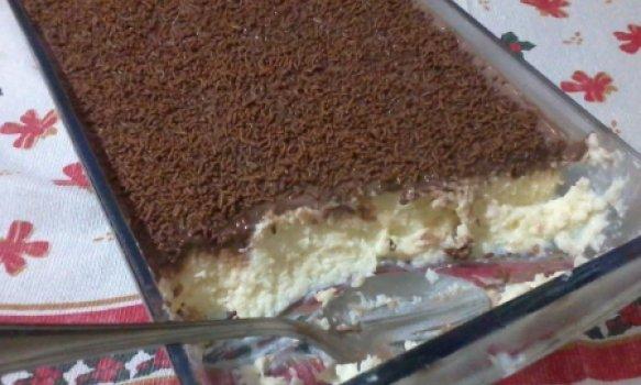 Torta de Chocolate com Coco