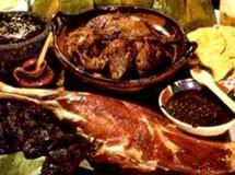 Barbacoa Hidalguense (Carneiro à moda de Hidalgo)