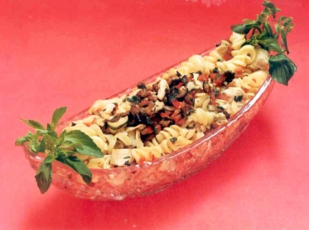 Salada de Macarrão e Berinjela