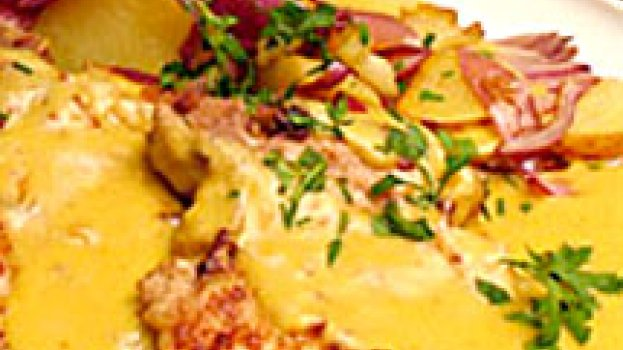 Bisteca com Mostarda e Batata