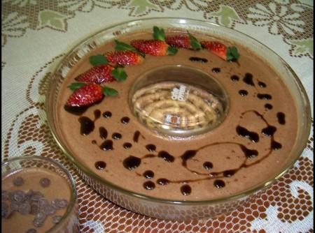 Mousse de Chocolate Facílimo e Delicioso