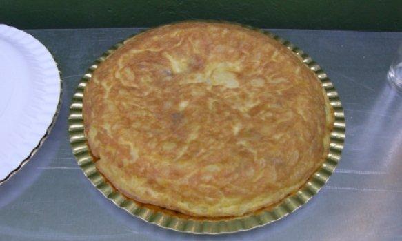Tortilla Española light (omelete de batatas)