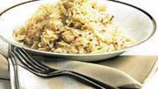 Risoto de Pêras com Gorgonzola e Nozes