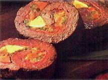 Carne Recheada com Presunto