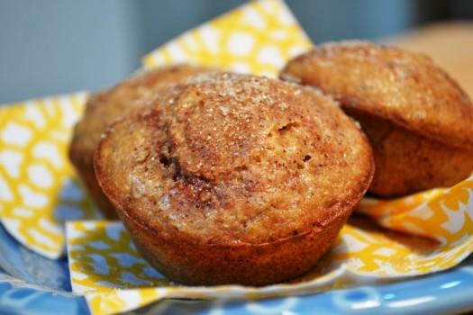 Muffins de Banana | Alessandra Rodrigues