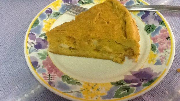 Torta de Cenoura e Queijo