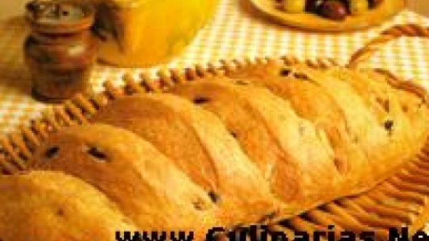 pão com azeitona