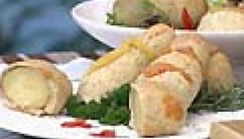 Frango e Batatas na Capa de Sal