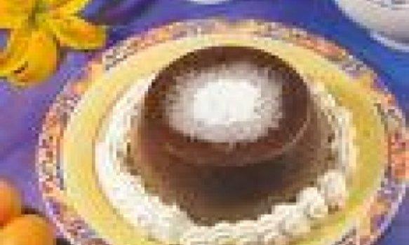 Flan de Chocolate para Crianças