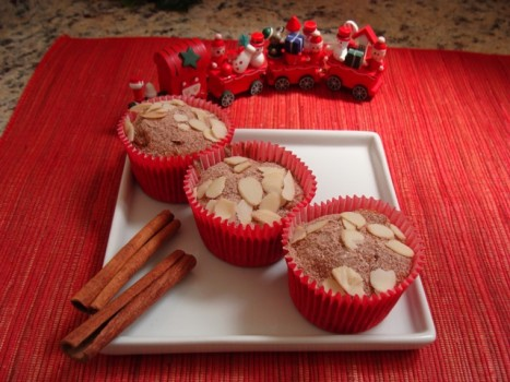Cupcake Integral com Frutas Secas e Maçã | Abima Associação Brasileira Massas Alimen