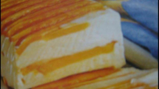 Gelado de Pêssego e Manga Diet