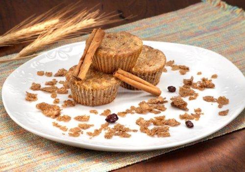 Muffin integral de maçã