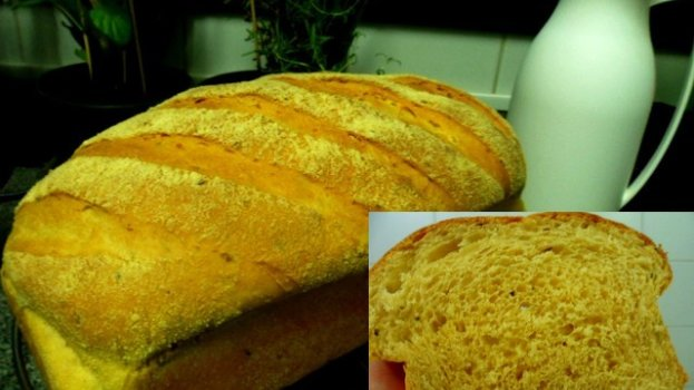 Pão de Milho Verde