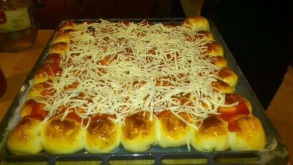 Pizza em Bolinhas