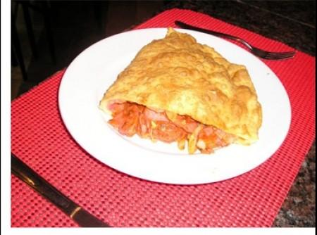Pizza frita | walter a trindade