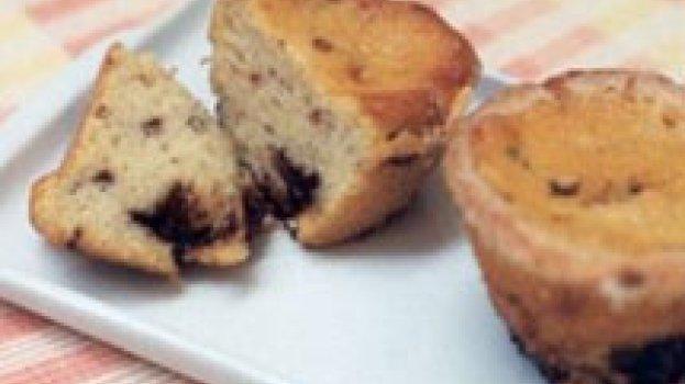 Muffins com Cream Cheese